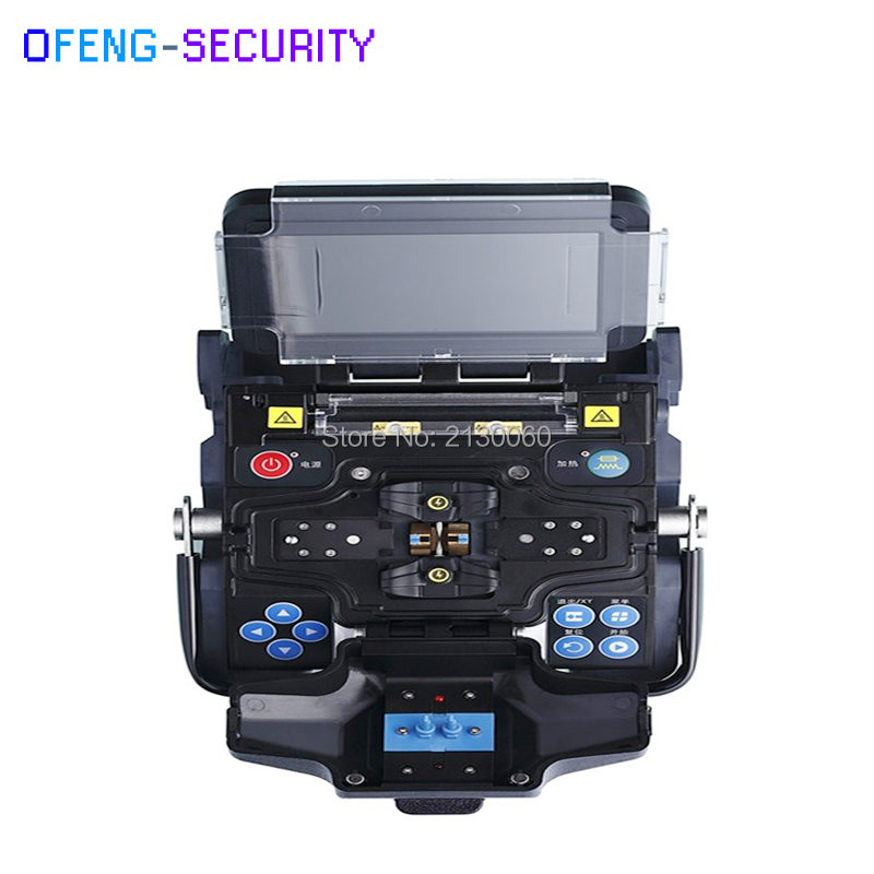 French/Portuguese/Spanish/English Eloik ALK-88 Fiber Optic Splicing Machine Optical Fusion Splicer