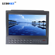 7inch Portable widescreen Satellite finder  DVB-T2 Test Monitor DVB-S DVB-S2 измеритель dvb s s2 сигнала galaxy innovations gi satf