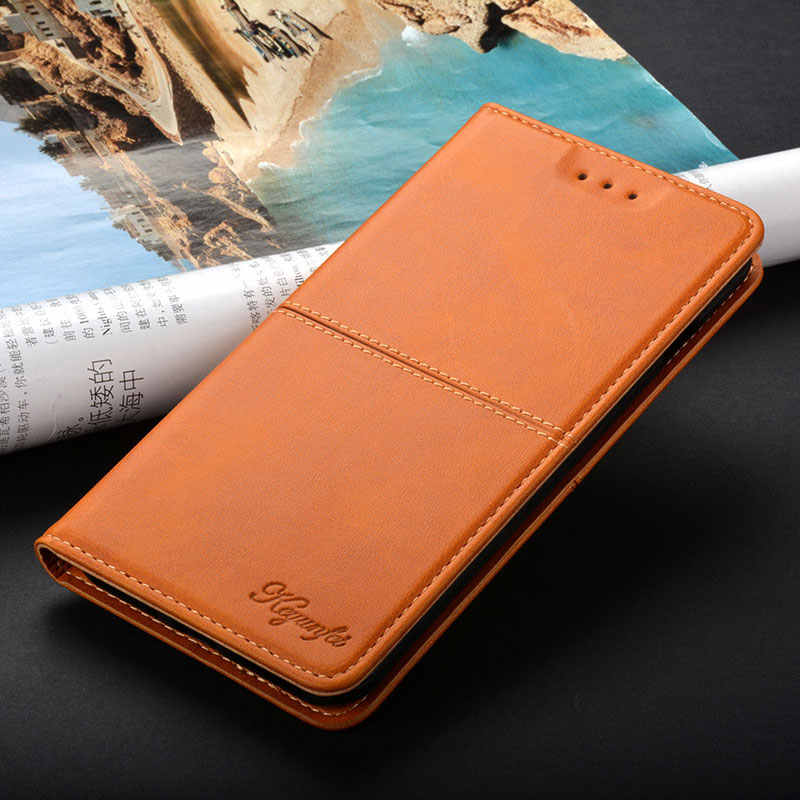 Case for LG G5 G6 G7 Q6 Q7 Q8 V30 K7 K10 RAY LV3 LV5 Aristo 2 luxury Vintage Leather Flip cover coque stand Card Slot case funda