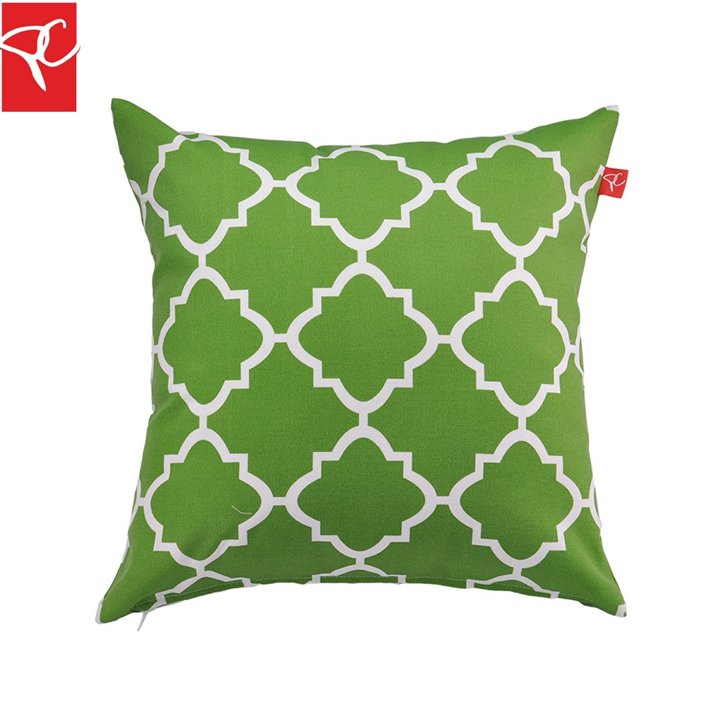 Cheap cushions for outdoor furniture - Pc 2pcs Lot Outdoor Furniture Decor Pillow Polyester Water Repellent Printed Cushion Throw Pillow Decor