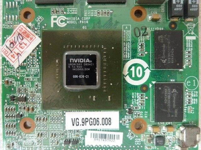 Laptop nVidia GeForce 9600M GT 9600MGT 1GB DDR2 G96 630 C1