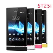 Refurbished sony ericsson xperia u st25 st25i 3g gps wifi 5mp android setzte ursprünglichen handy telefon ein jahr garantie