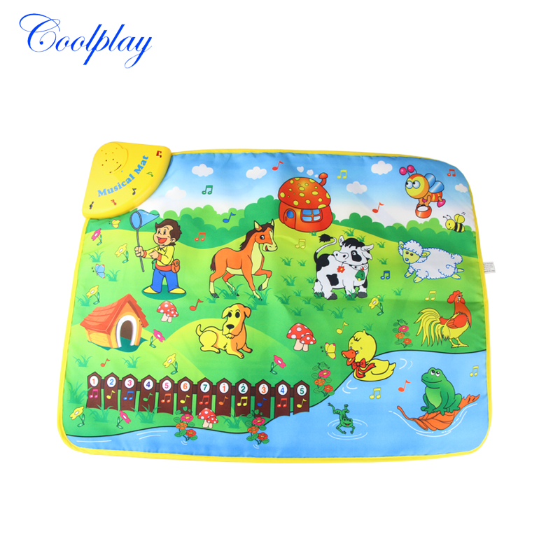 Coolplay Cp1313nc 69x50cm Music Animal Voice Singing Piano