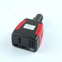 Car 150 Вт Мощность инвертор Зарядное устройство Новый адаптер 12 В постоянного тока до 110/220 В AC + USB 5 В