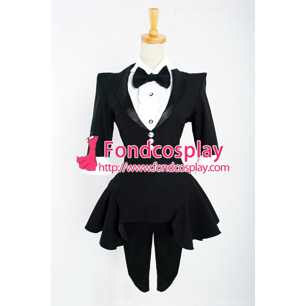 Sexy Women's Tail Coat Club Clothing Cosplay Costume Tailor-made