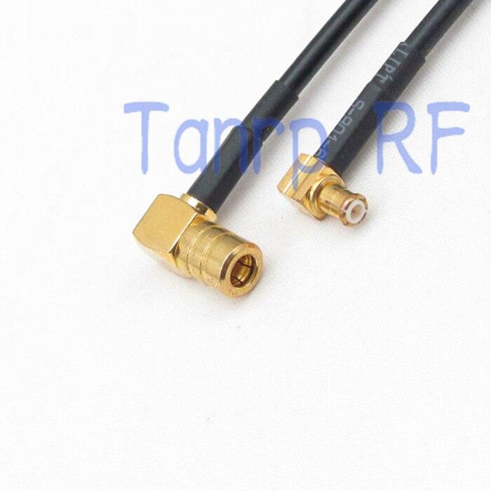 6in MCX штекер к SMB разъему, как прямоугольный RF разъем адаптера 15 см коаксиальный джемпер отрезок RG174 удлинительный кабель