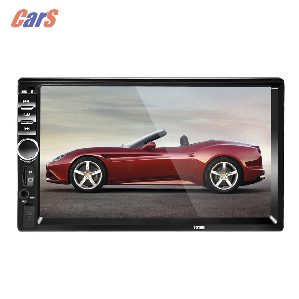 2 Din 7 Inch Bluetooth Car Stereo MP4 MP5 Player HD In Dash Car Radio Player Touch Screen MP3 MP5 Player Car Accessaries reakosound 7 inch lcd hd double din car in dash touch screen bluetooth car stereo fm mp5 radio player