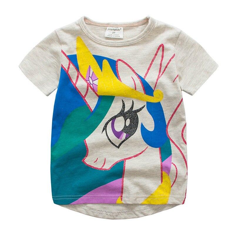 Ropa de bebé niña Roupas Infantis Menina niños Camiseta de verano - Ropa de ninos
