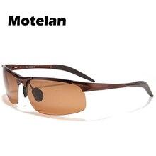 Moda de nova liga de alumínio e magnésio óculos Polarizados Condução Óculos  De Sol para Homens Inquebrável UV400 quadro masculin. 2fa6a63412