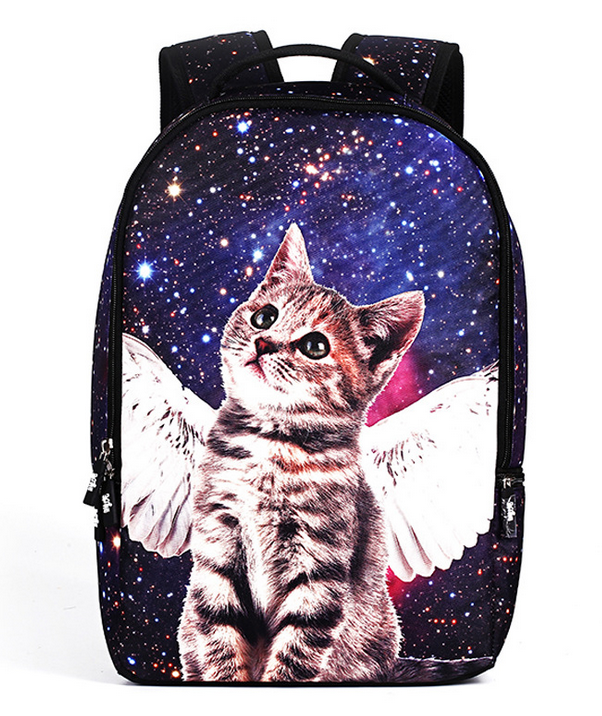 3D Animal Lovely Cats Kids Backpack Girls Boys School Bags Cartoon Orthopedic Backbook For Teenagers Casual Mochila