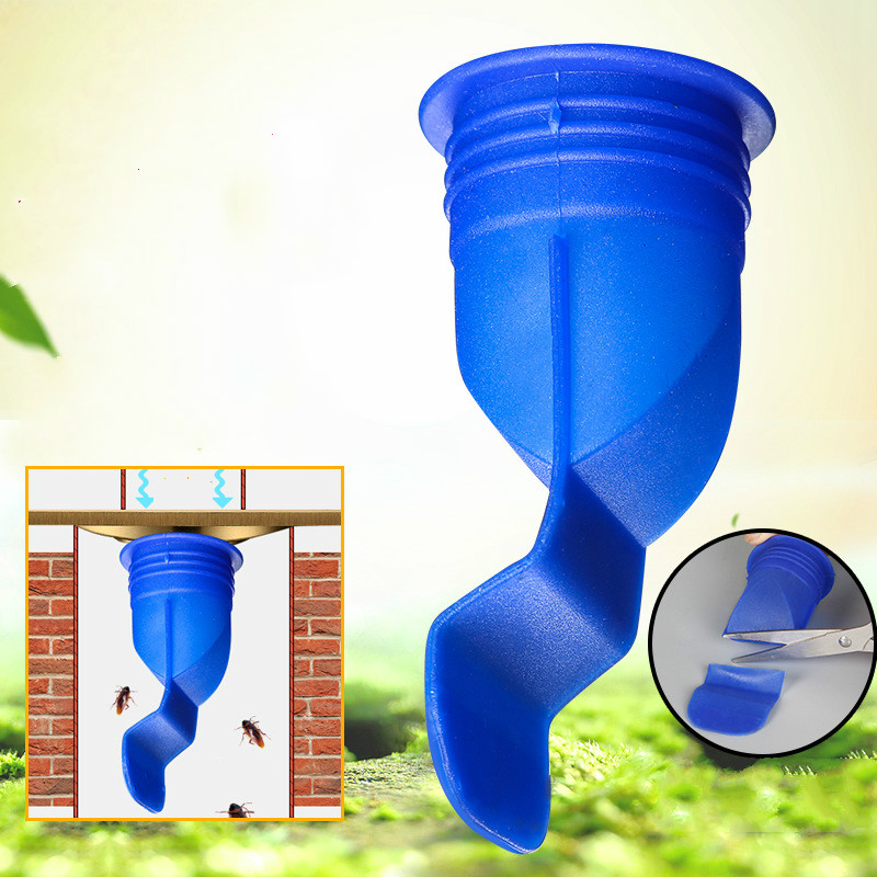 Silicone Kitchen Strainer Bathroom Pipe Sewer Drainer Anti-odor Pest Control Floor Drain Accessories Round Stainless Steel Cover