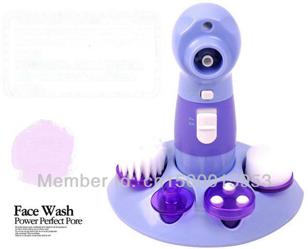 Free Shipping Wholesale Face The Wash Power perfect pore 4 in 1 Facial Cleaner Blackhead pore cleansing As Seen On TV