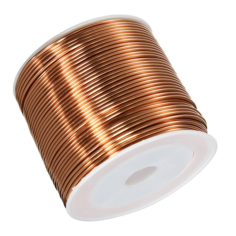 1.0mm Spool magnet Wire Enameled Copper Wire Magnetic Coil Winding Excellent Insulating Properties Best Promotion 1pc enameled wire stripping machine varnished wire stripper enameled copper wire stripper xc 0312