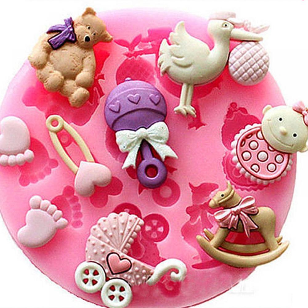 Cortadores de galletas de cabeza de unicornio caballo forma 001 Pastelería Fondant Sugarcraft Juego