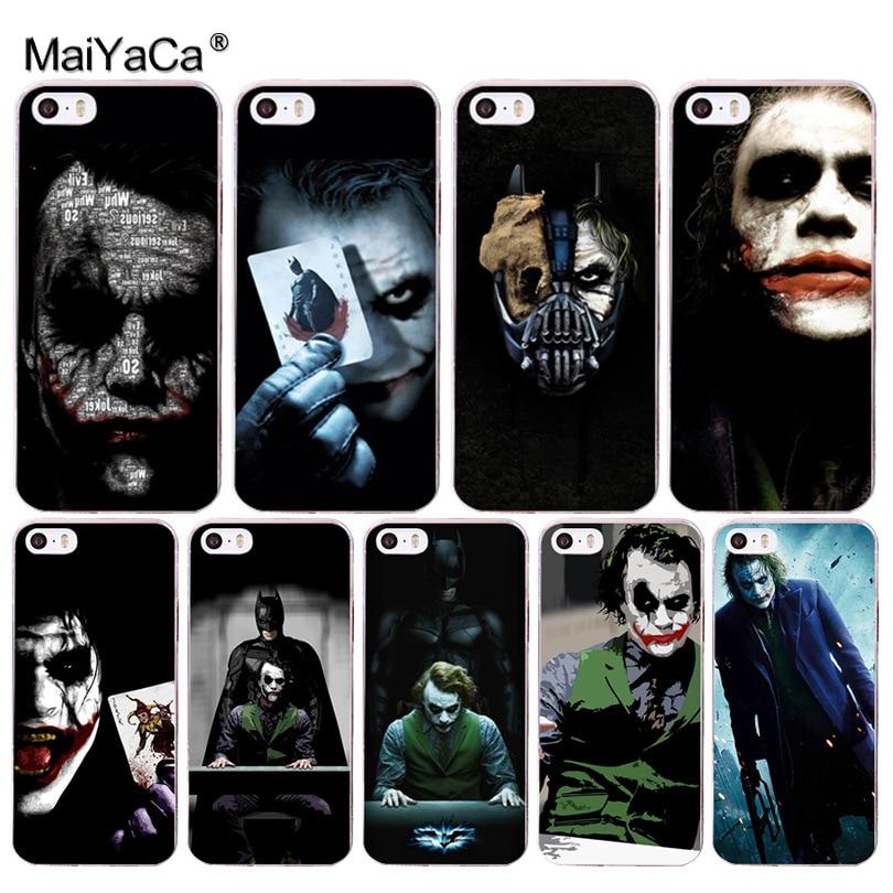 MaiYaCa Yatman joker Dark Knight Colorful Phone Accessories Case for Apple