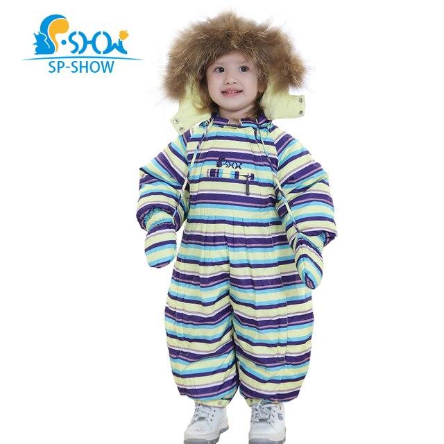 одежда для детей от 0-1,5 лет , бесплатная доставка ,новая коллекция зима 2016г,детский пуховый комбинезон ,два в одном (конверт для пеленания) ,натуральный мех енота на капюшоне ,подкладка из 100% хлопка