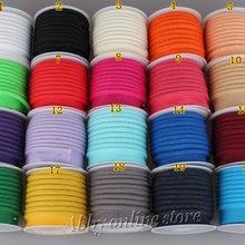 Полиэстер косой трубопровод, косой трубопровод лента со шнуром, размер: 12 мм, 15 ярдов Сделай Сам, швейный домашний текстиль сплошной цвет