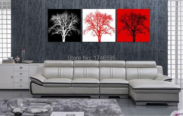 Slaapkamer Zwart Rood : Big size stks woonkamer slaapkamer muur decor home decor
