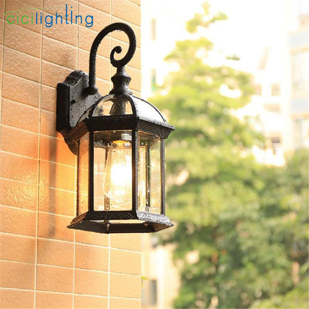 Vintage outdoor wall lamp creative waterproof wall lights corridor balcony community porch lighting for Yard Corridor Balcony Vintage outdoor wall lamp creative waterproof wall lights corridor balcony community porch lighting for Yard Corridor Balcony