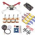 Bastidor f450 quadcopter frame kit apm2.6 y 7 m gps 2212 1000kv hp 30a 1045 prop