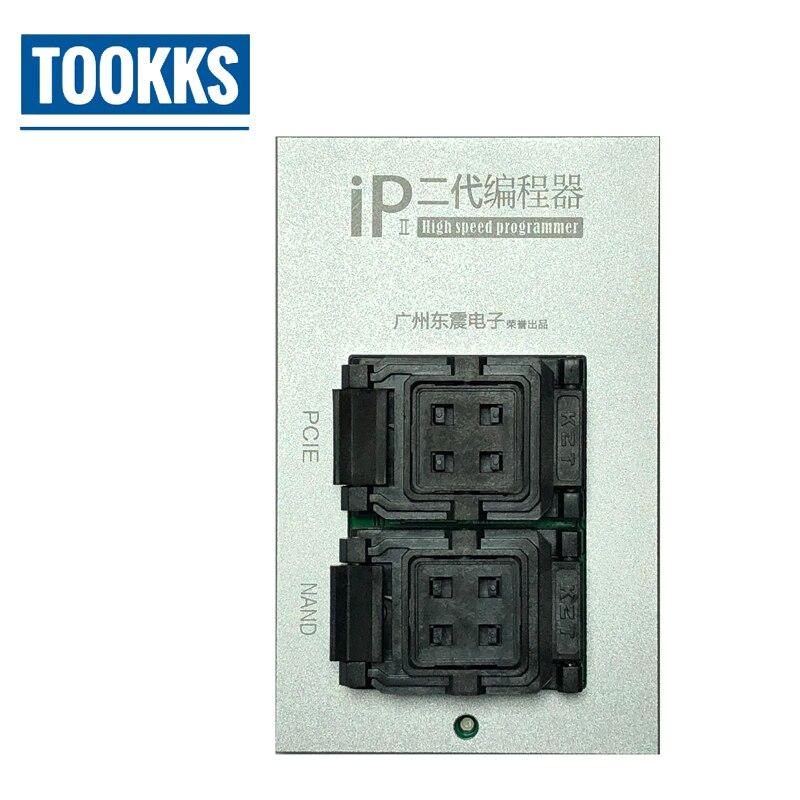 2018 Mais Recente Caixa de IP 2th Alta Velocidade Programador NAND PCIE para iPhone 5 4S 5C 5S 6 6 P 6 S 6SP 7 7 P NAND Atualização 64-Bit Disco Rígido Teste