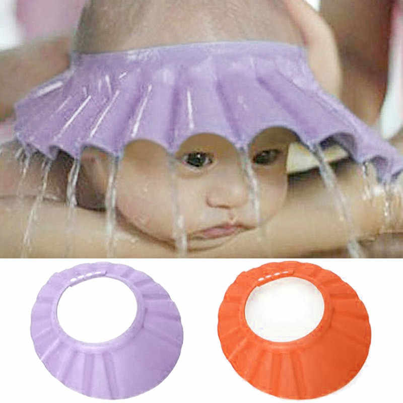 ขายร้อนปรับหมวกอาบน้ำสำหรับเด็กทารกแชมพูอาบน้ำอาบน้ำอาบน้ำป้องกันปรับหมวกหมวกนุ่มหมวกแชมพู # n30