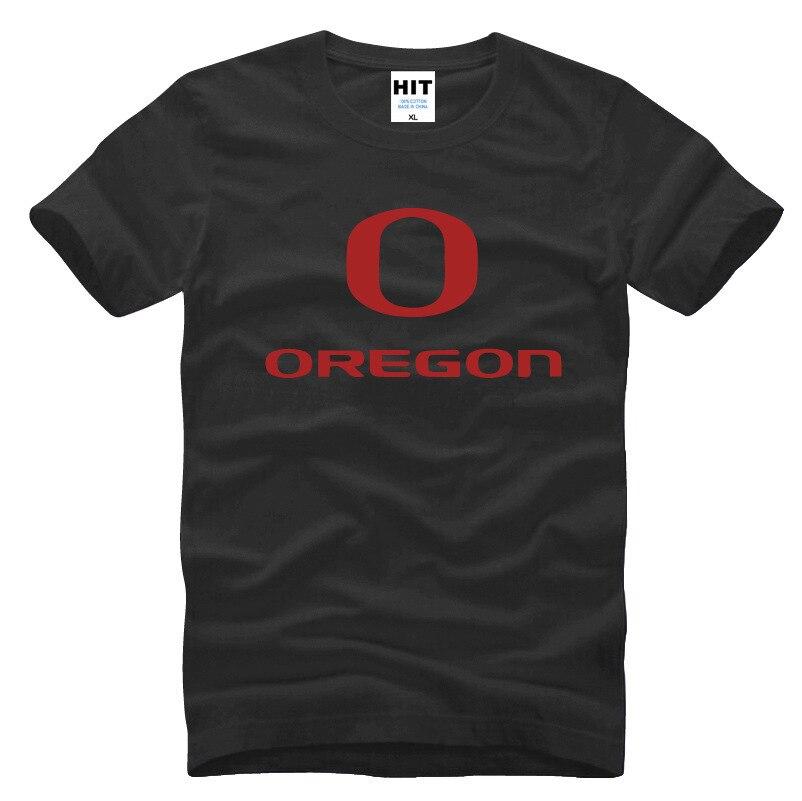 Royce Freeman Oregon Letter Printed Mens Men Casual T Shirt Tshirt 2016 New Short Sleeve O Neck Cotton T-shirt Tee