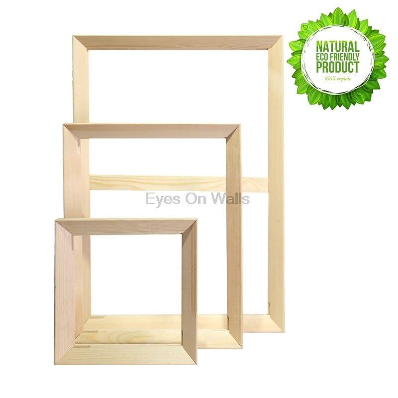 Diy Simple marco interior de madera marco de madera foto marco para ...