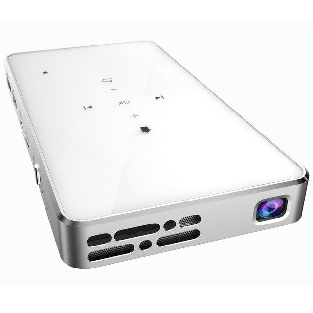 Moble DLP СВЕТОДИОДНЫЙ Проектор поддержка IOS/Android/Windows/Mac OS