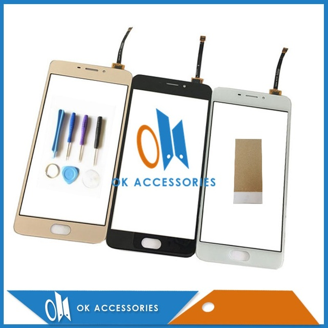 Black White Gold Color For Meizu M5 Note Touch Screen Digitizer Screen Touch Panel With Tools & Adhesive Tape 1PC/Lot