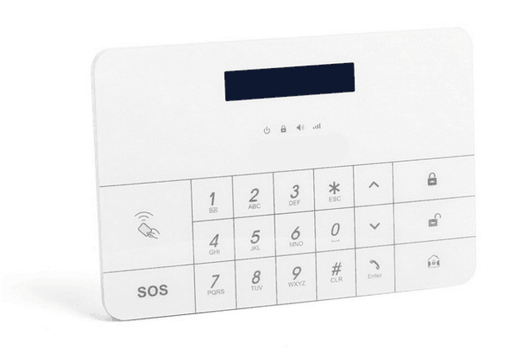 APP Remote Control Touch screen GSM alarm System цена