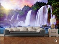 Custom natural scenery wallpaper,Banyue Waterfall,photo mural for the living room bedroom restaurant background wall wallpaper