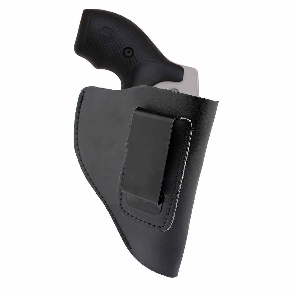 Ultimate Leather IWB Holster for Right Hand Fits Most J Frame  38 Special  Revolvers Ruger LCR Smith Wesson Body Guard Taurus