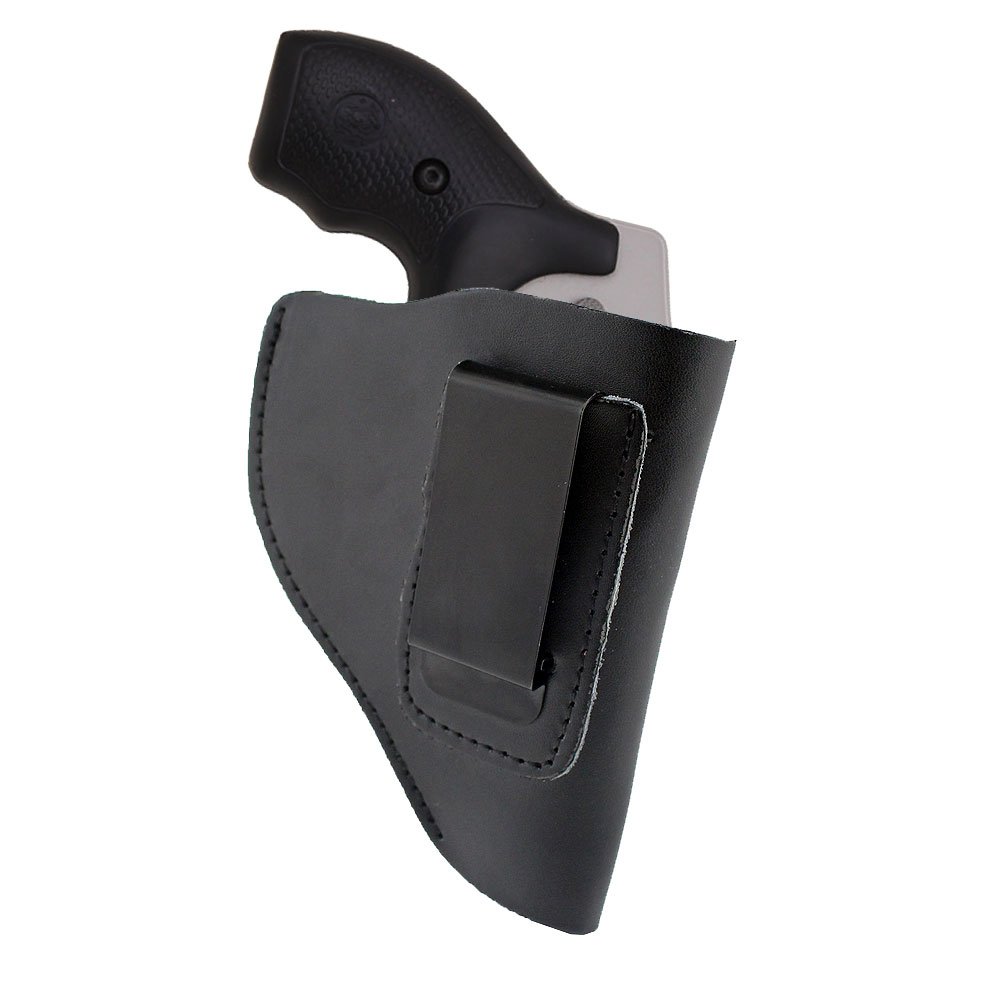 Ultimate Leather IWB Holster for Right Hand Fits Most J Frame .38 Special Revolvers Ruger LCR Smith Wesson Body Guard Taurus padded wrist guard one size fits most