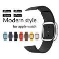 Ремешок из натуральной кожи YUKIRIN для apple watch Series 4, 3, 2, 1, браслет, современный стиль, кожаный iwatch, наручные часы 44 мм, 42 мм, 40 мм, 38 мм