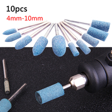 Abrasive Mounted Stone Points Electric Grinding Accessories Polishing Head Wheel Tool For Dremel Rotary Power Tools