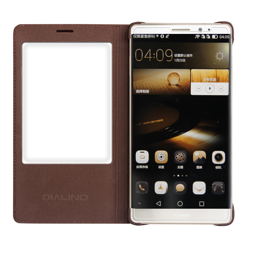 QIALINO Huawei Ascend Mate 8 Väska Mode Mönster Äkta läderfodral - Reservdelar och tillbehör för mobiltelefoner - Foto 4