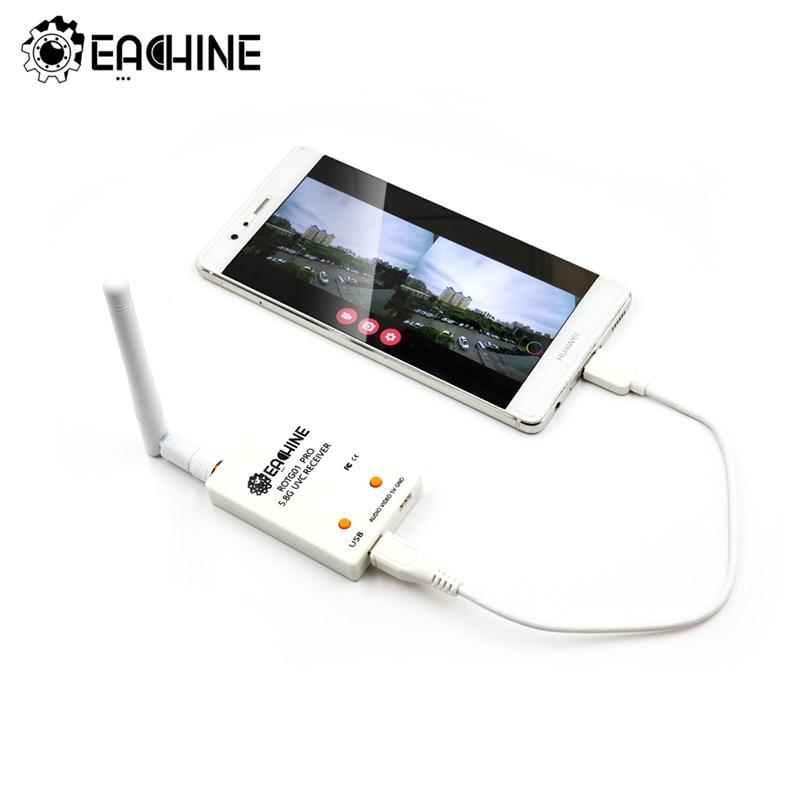 Eachine ROTG01 Pro UVC OTG 5,8G 150CH Volle Kanal FPV Empfänger W/Audio Für Android Smartphone