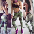 Women High Waist Fitness Leggings Running Stretch Sports Pants Trousers