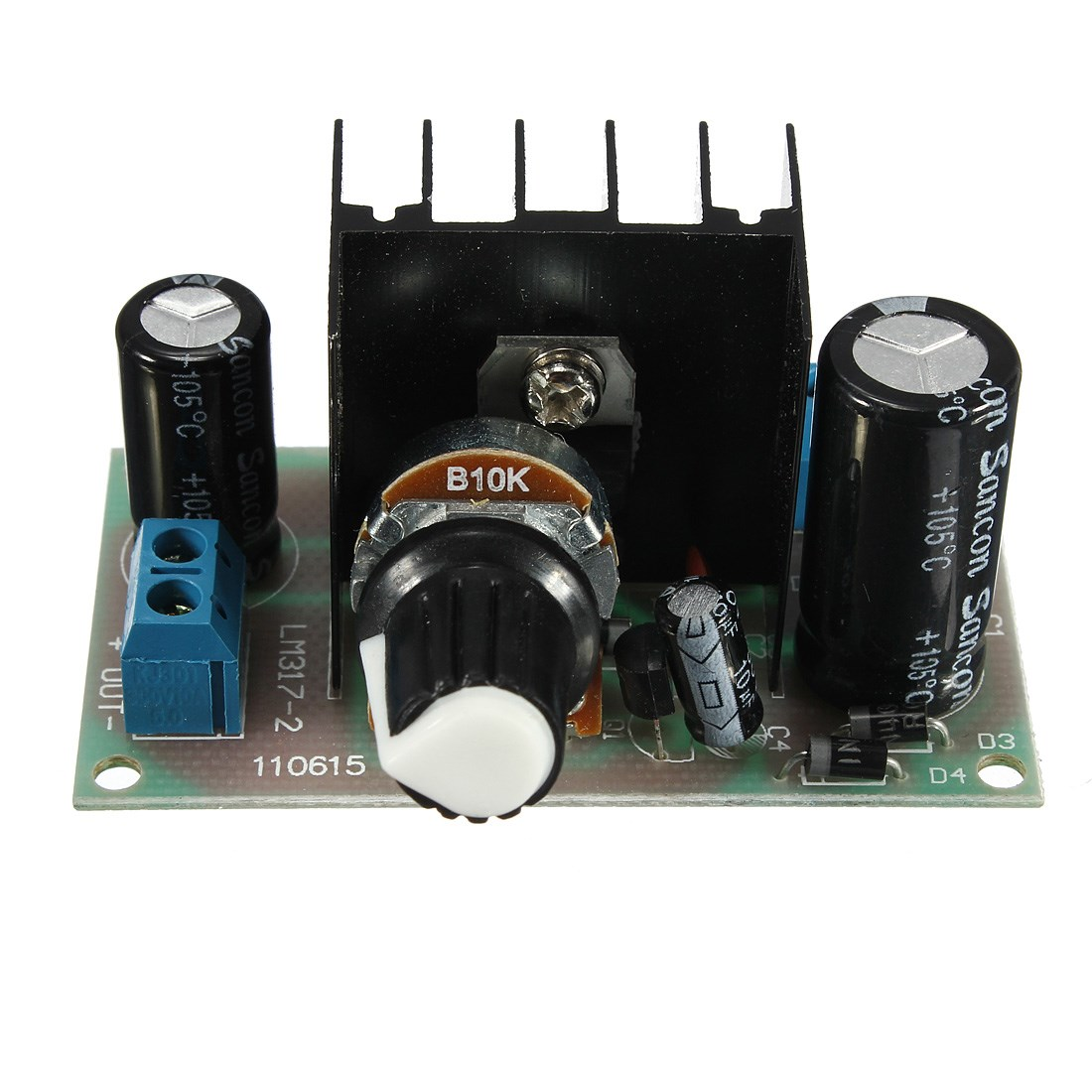 Lm317 Typical Adjustable Regulator Ckt Arduino T Lm338 Lm350 Voltage Calculator Schematic Hot Sale Electronic Circuit Board Dc Ac To Power Continuous 125v 37v Usa In Integrated Circuits From