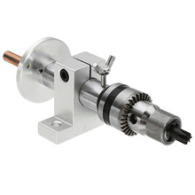 1Pc Live Lathe Center Head With Chuck Diy Accessories For Mini Lathe Machine Revolving Lathe Centre Woodworking Tool 1pc silver mt0 live milling center morse taper bearing steel for lathe turning revolving tool mayitr