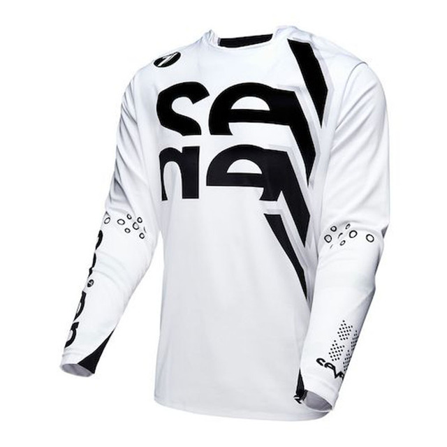yellow white Enduro Jerseys Seven motocross mx bike mtb t shirt summer  downhill long sleeve cycling clothes camiseta dh-in Cycling Jerseys from  Sports ... cb3658a91