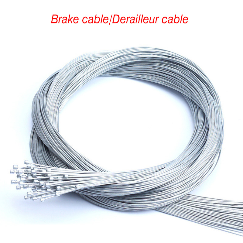 10Pcs Cycling Front Rear Derailleur Cable Set MTB Bike Brake Inner Cable Core Wire Mountain Bikes Disc Brake Road Bicycle Parts