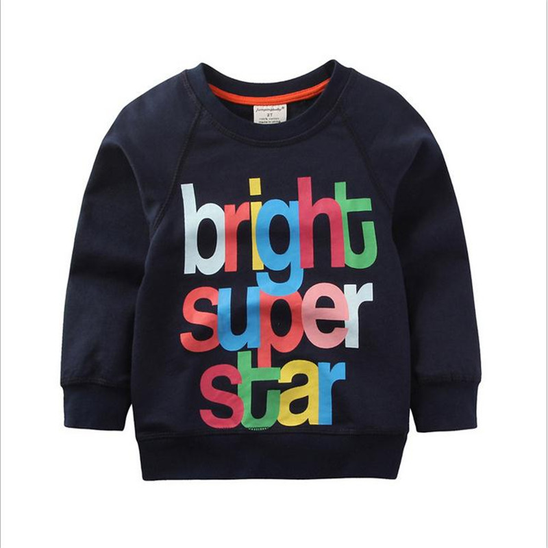 2017 New arrivals Boys girls Cotton Sweaters Brand Baby Boys Clothing Children Kids Clothes Boys Sweatshirt t shirts Hoodies