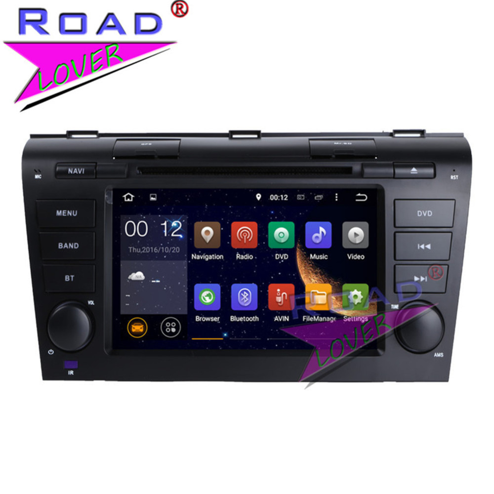 TOPNAVI New 4G+32GB Android 8.0 Octa Core Car PC DVD Player Head Unit For Mazda 3 Stereo GPS Navigation Two Din Auto Video MP3