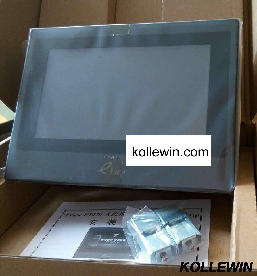 ET050 Kinco eView HMI Touch Screen 4.3 inch 480*272 new in box with programming cable & software fast ship 1 year warranty 7 inch et070 eview hmi touch panel module with programming cable