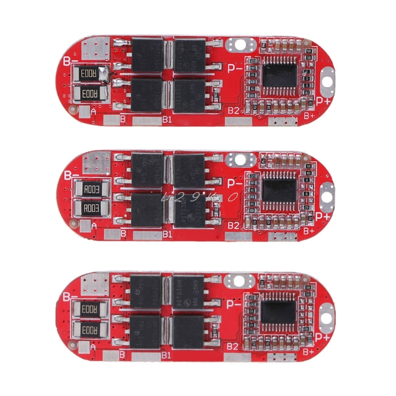 3S 12.6V 4S 16.8V <font><b>5S</b></font> 21V <font><b>18650</b></font> Li-ion Lithium Battery <font><b>Protection</b></font> Charging Board image