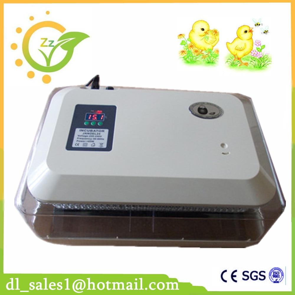 Full Automatic Egg Turning Egg Incubator 24 Eggs Capacity ...