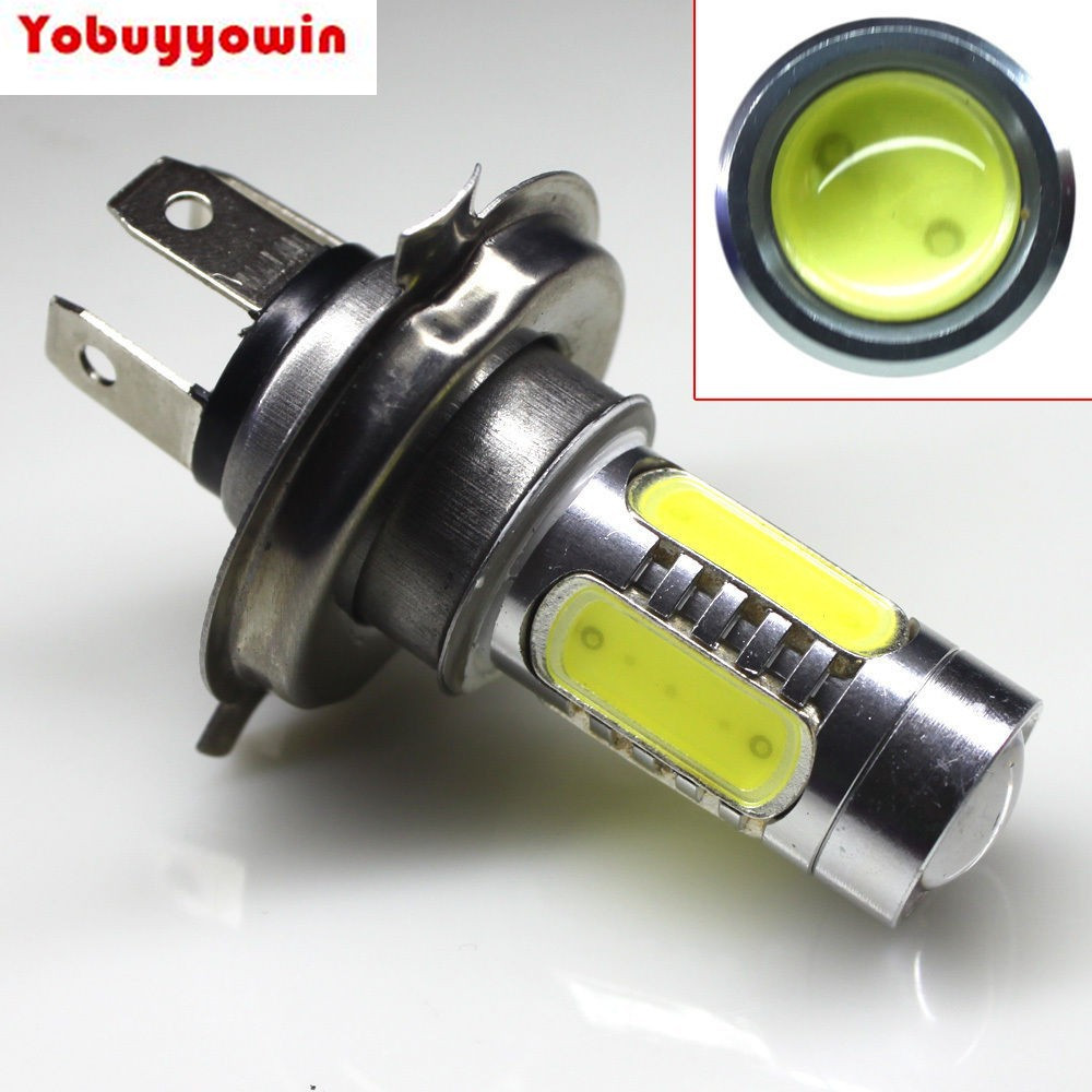 Free shipping 4pcs/lot Super Bright 7.5W H4 LED Turn Brake Stop Signal Tail Fog Bulb Light Lamp For Auto Car DC12V-24V