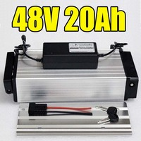 1000W Electric Bike Batteries 48v 20Ah Lithium Ion Battery Use For Samsung Rear Rack Electric Bicycle